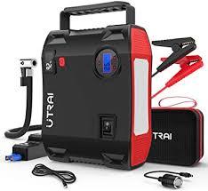 Portable Jump Starter with Air Compressor, UTRAI ... - Amazon.com