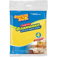<b>Салфетки ФРЕКЕН БОК</b> Фламенко Вискозные для уборки ...