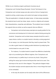 topics for a compare and contrast essay   essay compare contrast essay topic order essays
