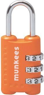 <b>Munkees</b> Keyring | 3604 <b>Combination Lock</b> 1 52x23.5x12mm ...