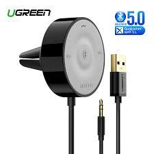 UGREEN <b>Bluetooth 5.0</b> Car Kit Receiver aptX LL Wireless <b>3.5mm</b> ...