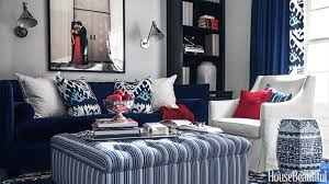 patriotic decor for 4th of july red white and blue decorating ideas blue room white
