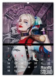 Перекидной <b>Календарь А2</b> Отряд самоубийц / Suicide Squad ...