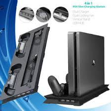 ps4 slim <b>vertical stand</b> with cooling fan — международная ...