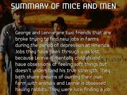 challenges by nquachsummary of mice and men