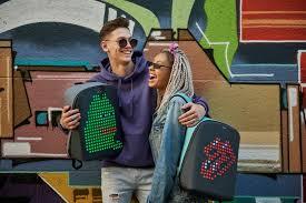 Рюкзаки с LED-панелями - PIXEL-BAGS