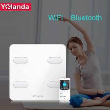 Yolanda Premium Bathroom Scale <b>WiFi Bluetooth Body</b> Fat Weight ...