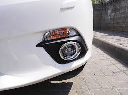 <b>Хромированные накладки на противотуманные</b> фары — Mazda ...