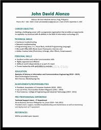 a good resume doc tk a good resume 23 04 2017