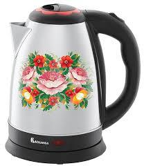 Купить электрический <b>чайник Василиса ВА</b>-<b>1010</b>, Металл ...