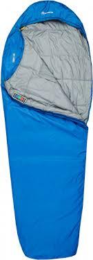 <b>Спальный мешок</b> Outventure <b>Trek</b> +10 левосторонний синий цвет ...