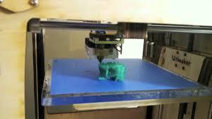 Time Elapse & <b>Speed</b> of Ultimaker 3D <b>Printing</b> a Terminator T800 <b>Skull</b>