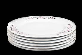 Набор <b>тарелок</b> 27 см 6 шт <b>Болеро</b> Розовые цветочки <b>CMIELOW</b> ...