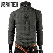 Coolred-<b>Men</b> Business <b>Plus Size</b> Semi-high Collar <b>Pullover Sweater</b> ...