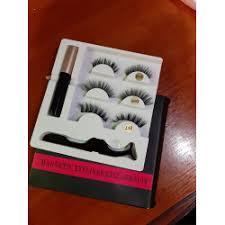 Отзывы о Набор <b>магнитных ресниц Magnetic</b> Eyeliner Eyelash Suit