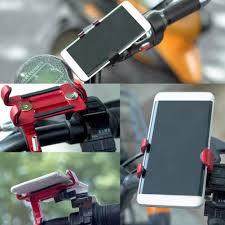 <b>Aluminum Alloy</b> Bicycle Mobile <b>Phone</b> Holder Fixed Navigation MTB ...