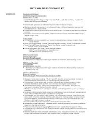 resume physical therapy resume template physical therapy resume ideas full size