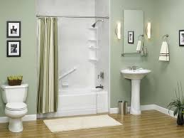 shower curtain wall paint bathroom decorating