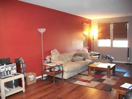 Red Wall Living Room Decorating Red Accent Wall Living Room House Interior Decoration Colour Red