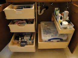 bathroom drawer organization: organize the bathrooms in your ocala home with pull out shelves