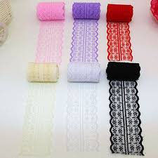 <b>New Beautiful</b> Bilateral Handicrafts Ribbon Embroidered Net Lace ...