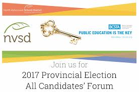 home carson graham secondary all candidates forum 2017 provincial election