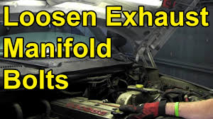 How to Loosen Stuck Exhaust Manifold Bolts (Quick Tip) - YouTube