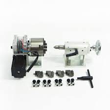 Newest Rotary axis A axis <b>4th axis dividing head</b> for CNC router ...