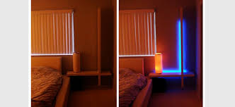 looking to create some mood lighting in the living room here is an indirect lighting idea using dioder led lights and a pax fevik wardrobe door best mood lighting