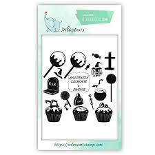 <b>Halloween Clear</b> Stamps – Inlovearts