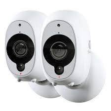 Swann Smart Security Cameras, <b>2</b> Pack: <b>2</b> x <b>1080p</b> Full <b>HD</b> Wireless ...