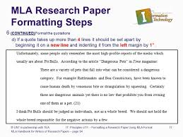 Principles of Information Technology Formatting a Research Paper