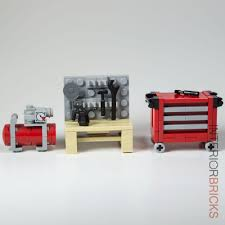 Lego Furniture Lego Furniture Full Garage Collection Workbench Tool Chest