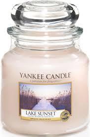 """<b>Ароматическая свеча</b> Yankee Candle """"Закат на озере / <b>Lake</b> ..."""