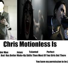Chris Motionless by memelessinwhite - Meme Center via Relatably.com
