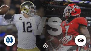 What channel is Notre Dame vs. Georgia on today? Time, TV ...