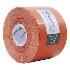 <b>Тейп кинезиологический Tmax Extra</b> Sticky Orange (5 см x 5 м ...
