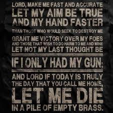 The Infantryman's Prayer | quotes | Pinterest | Prayer via Relatably.com
