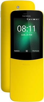 <b>Мобильный телефон Nokia 8110</b> 4G (желтый)