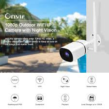<b>JOOAN Wireless</b> HD 1080P WIFI <b>IP Camera</b> Onvif Outdoor Security ...