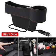 Marivon Car Gap Organizer <b>Seat</b> Console <b>Car Storage Box</b> 2 Pack ...