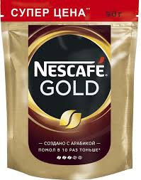 nescafe gold кофе растворимый сублимированный с добавлением натурального жареного молотого кофе 250 г