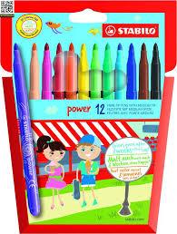 <b>Набор фломастеров Stabilo</b> Power, 12 цветов купить за 326 ...