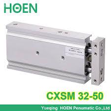 CXSM32 50 High quality double acting dual rod piston <b>air</b> ...