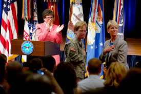 u s department of defense photo essay valerie jarrett a senior advisor to president barack obama recognizes army brig