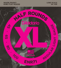 <b>Струны D`Addario ENR-71</b> Regular Light Для бас-<b>гитары</b>, цена ...