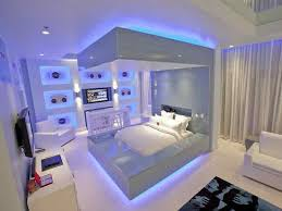 furniturecool lights in bedroom ideas with led light glow under the bed area and blue light bedroom led lighting ideas