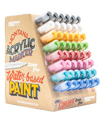 ACRYLIC <b>Marker</b> & Ink | <b>MARKER</b> & INKS | MONTANA-CANS ...
