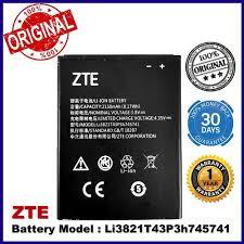 <b>Original</b> Battery ZTE <b>Li3821T43P3h745741</b> ZTE Blade L5 / ZTE ...
