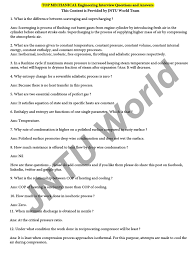 industrial engineering interview questions and ansndustrial top mechanical engineering interview questions and answers